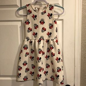 H&M Minnie Mouse dress size 8-10 youth